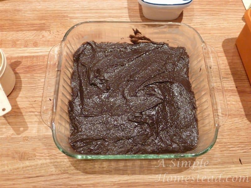 brownies - batter