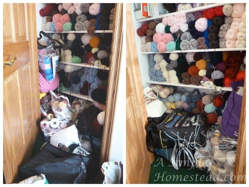 stash update yarn closet