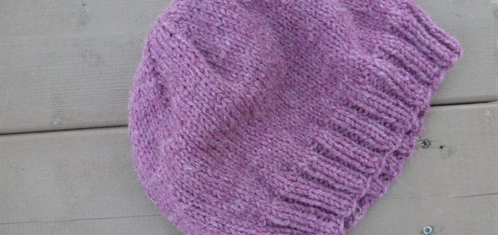 Adult Simple Hat flat