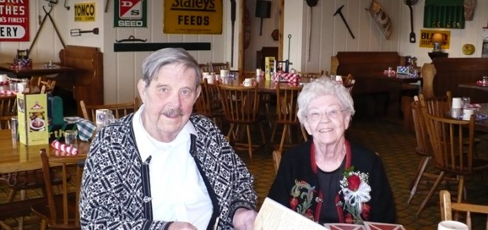 Grandma's birthday party 2009