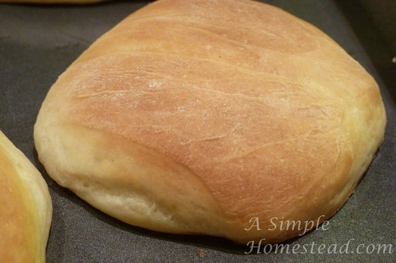 Lion house rolls - baked