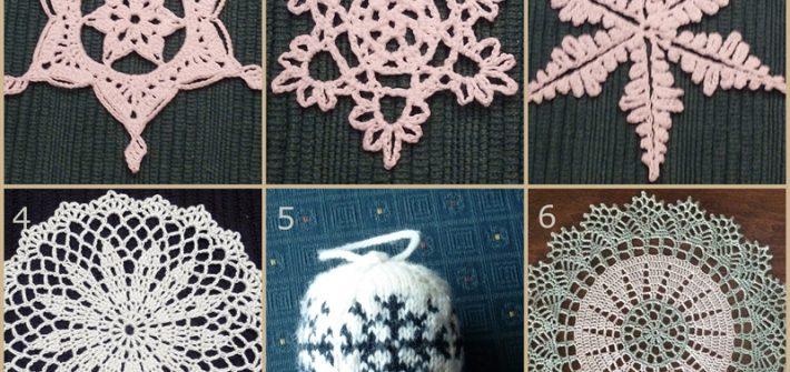 2013 - snowflakes and threa