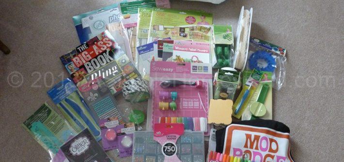 huge craft prize package
