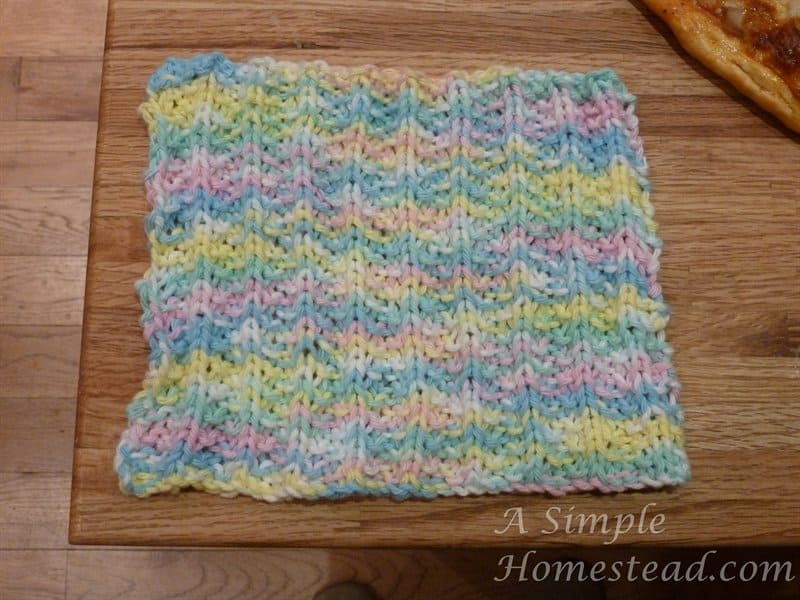 Mistake Rib Dishcloth