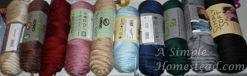 weather afghan color choices