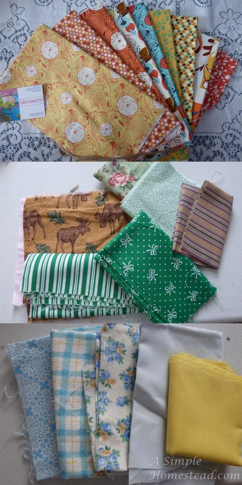 fabric choices for It's a New Year Sewalong