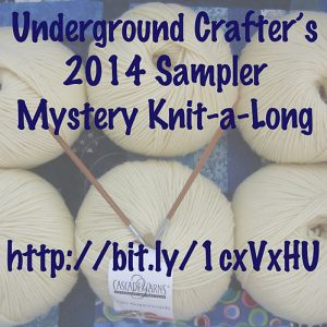 Underground Crafter's 2014 Sampler Mystery Knit-a-long