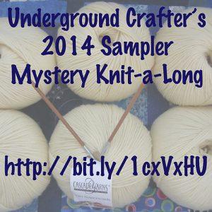 Underground Crafter's 2014 Sampler Mystery Knit-a-long