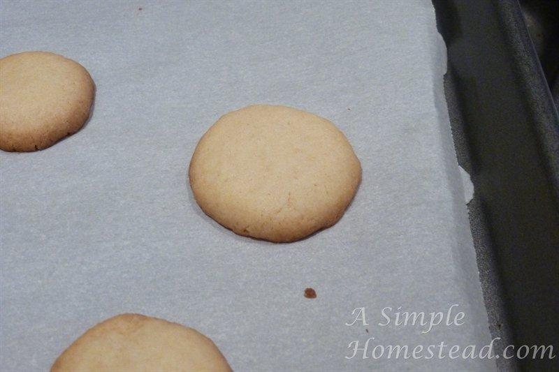 vanilla wafers baked