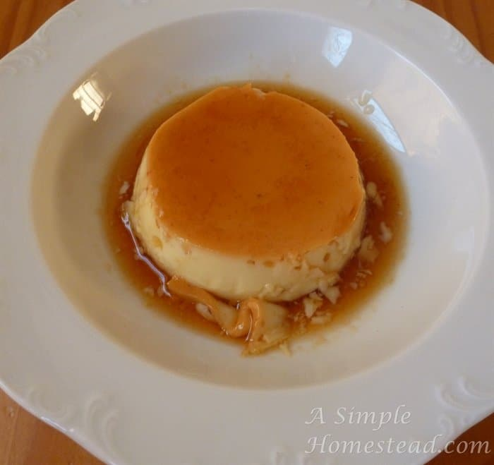 A Simple Homestead - Caramel Custard