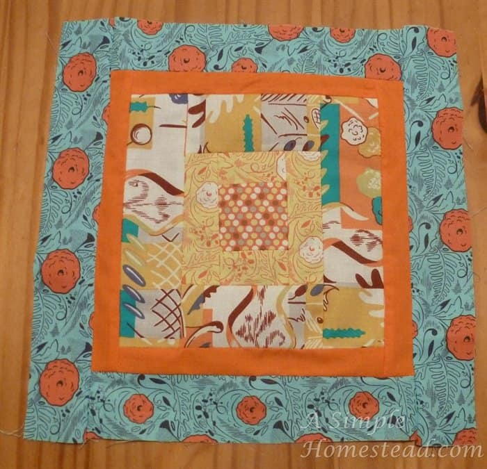 Aurifil March block - Borders