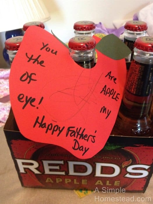 Father's Day 2014 - Apple of my eye
