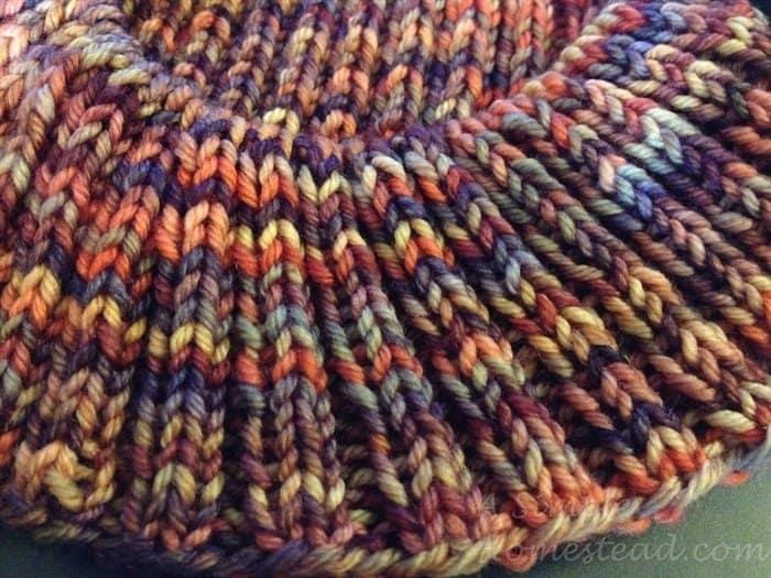 ASimpleHomestead.com - Northmoor watchcap in Archangel colorway