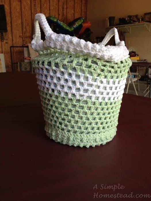 ASimpleHomestead.com - bobble bag