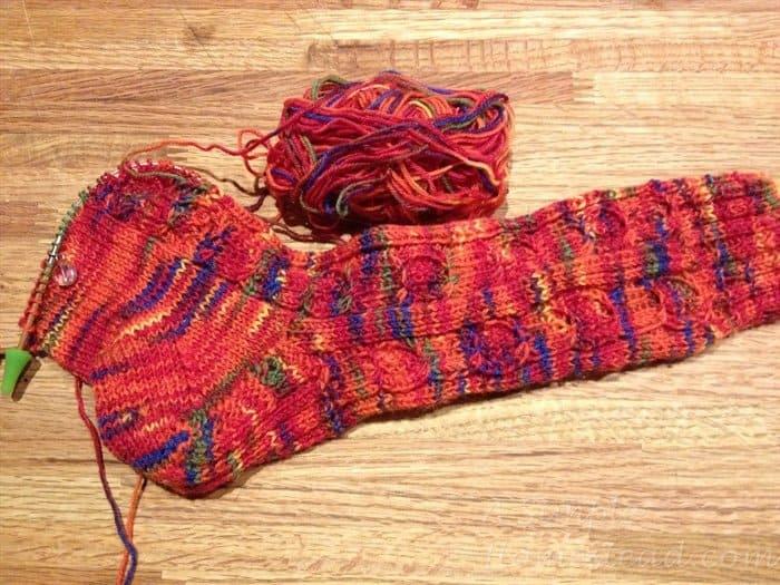 ASimpleHomestead.com - Little Pumpkins Socks