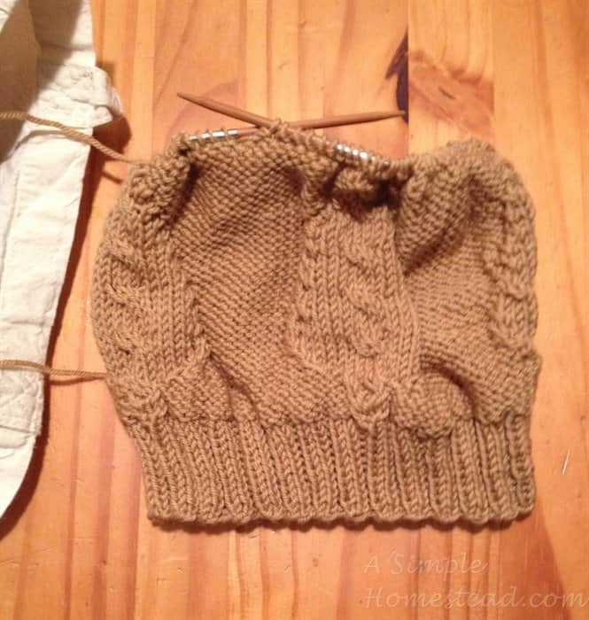 ASimpleHomestead.com - leaf hat