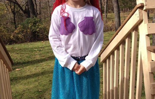 ASimpleHomestead.com - mermaid costume