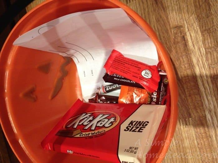 ASimpleHomestead.com - Halloween candy