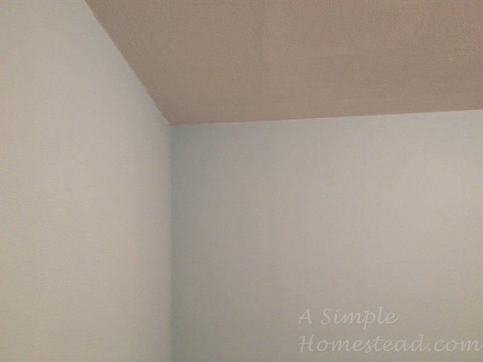 ASimpleHomestead.com - craft room blue paint