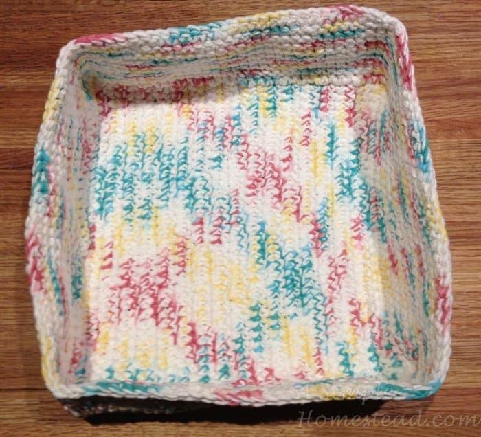 ASimpleHomestead.com - boll weevil basket