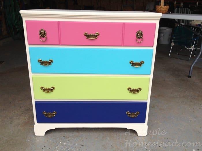ASimpleHomestead.com - finished dresser