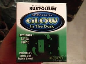 ASimpleHomestead.com - glow in the dark paint