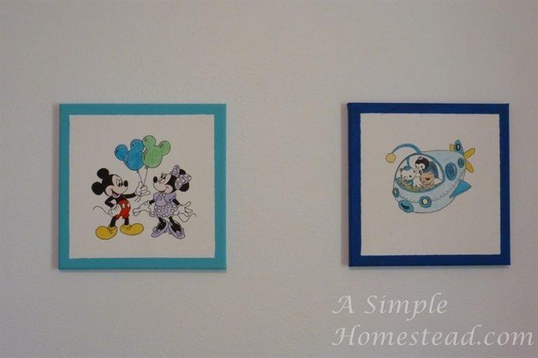 ASimpleHomestead.com - Minnie/Mickey and Octonauts