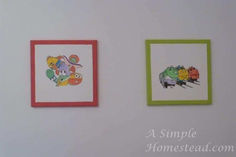 ASimpleHomestead.com - Veggie Tales and Chuggington