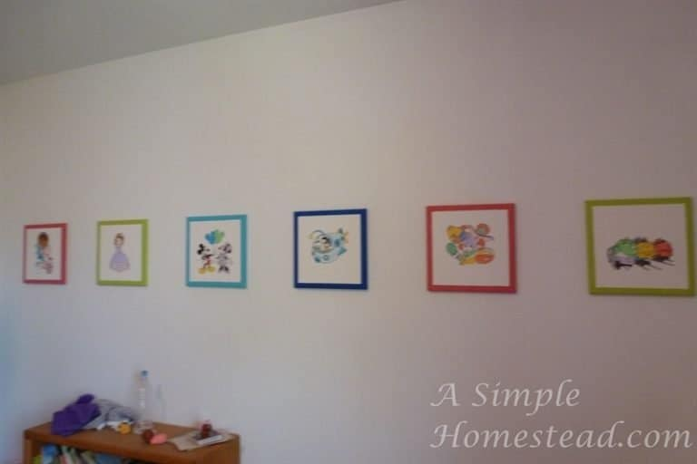 ASimpleHomestead.com - canvas board pictures