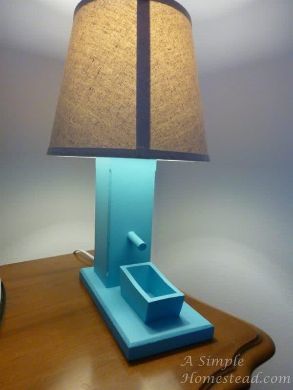 ASimpleHomestead.com - pump lamp finished