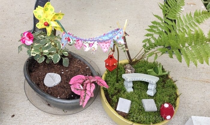 ASimpleHomestead.com - fairy gardens
