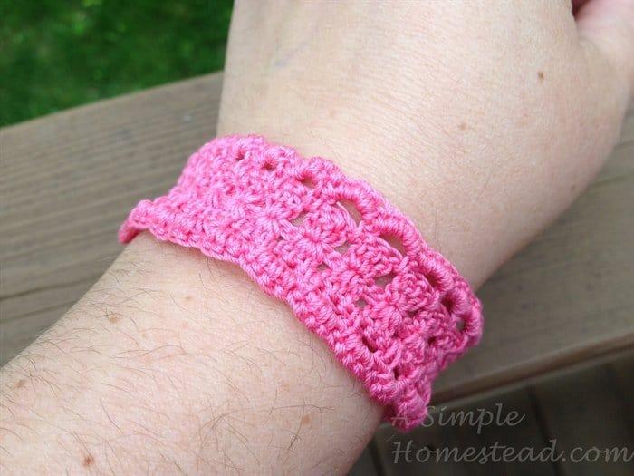 ASimpleHomestead.com - Filigree bracelet