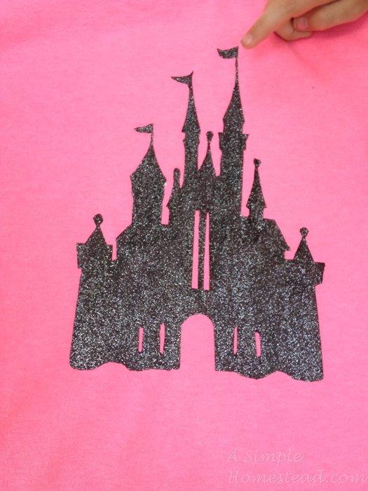 ASimpleHomestead.com - castle silhouette