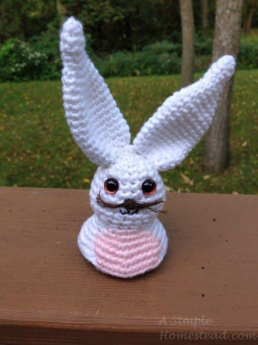 ASimpleHomestead.com - Bunny bust