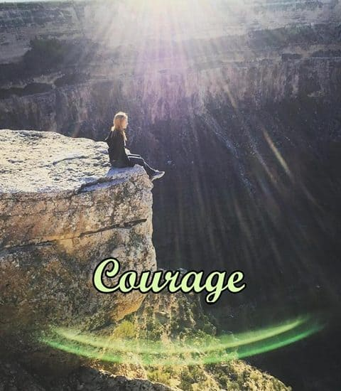 ASimpleHomestead.com - OneWord 2016 Courage