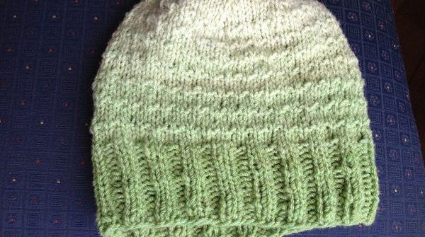 ASimpleHomestead.com - dyed wool hat