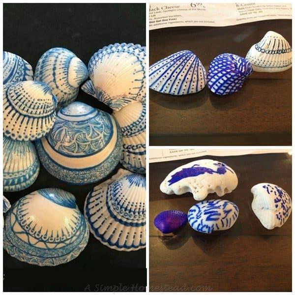ASimpleHomestead.com - delft shells