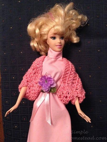 ASimpleHomestead.com - Barbie shrug