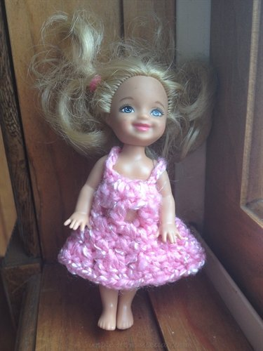 ASimpleHomestead.com - doll dress for Chelsea