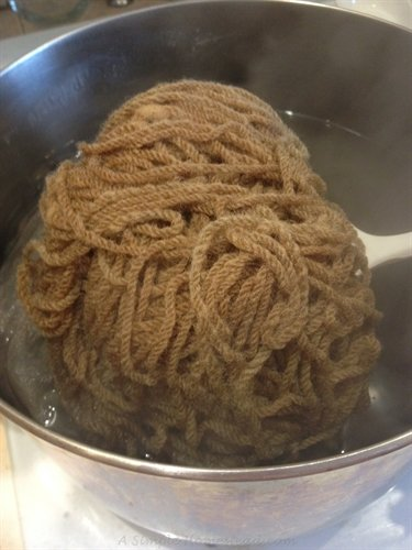 ASimpleHomestead.com - red cabbage dyeing, no green