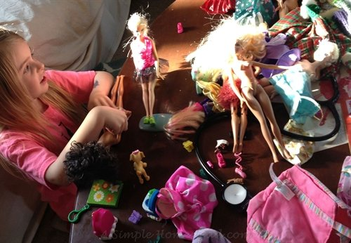 ASimpleHomestead.com - doll party