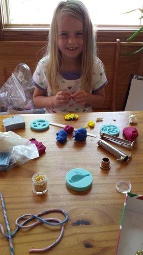 my polymer clay helper | ASimpleHomestead.com