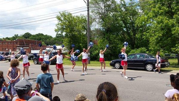 high school pompoms | ASimpleHomestead.com