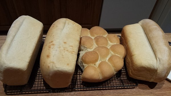 homemade-bread-loaves | ASimpleHomestead.com