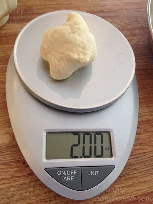 soft-buttery-dinner-rolls-on-scale