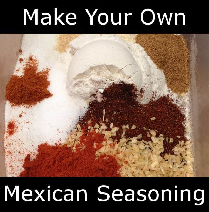 taco seasoning Mexican