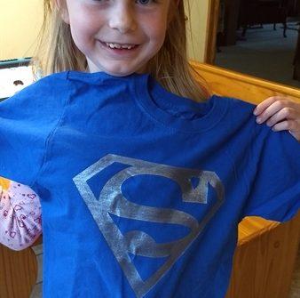 Supergirl t-shirt - ASimpleHomestead.com
