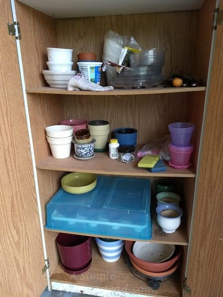 my potting shed - ASimpleHomestead