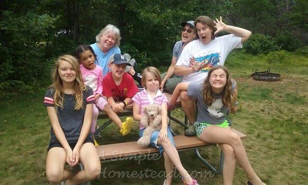 camping goofballs