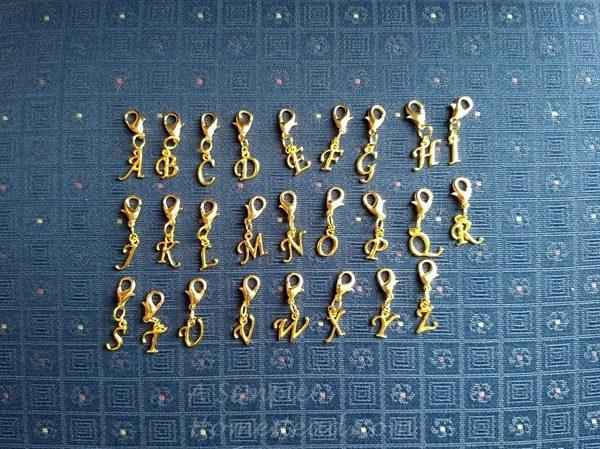 gold alphabet progress keepers full set - ASimpleHomestead